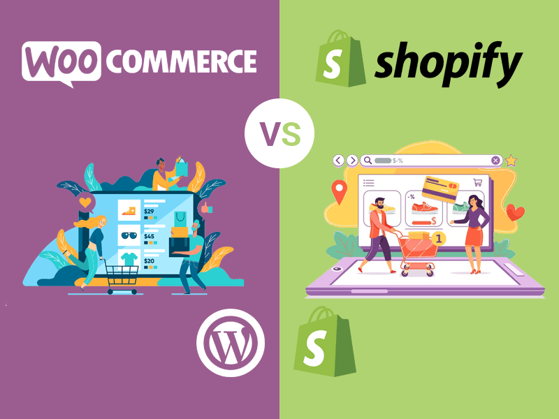 WooCommerce vs Shopify: Detalle y Comparación 2020